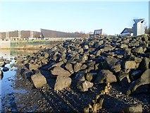 NS3882 : Rocky Loch Lomond shoreline by Stephen Sweeney