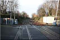 TA2609 : Friar Gate level crossing by Richard Croft
