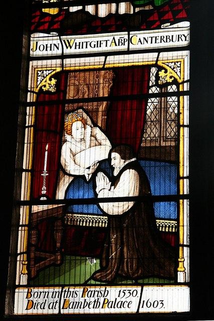 John Whitgift window detail