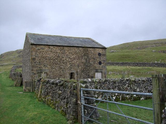 Barn at Shake Holes above Settle