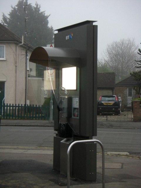 New telephone kiosk