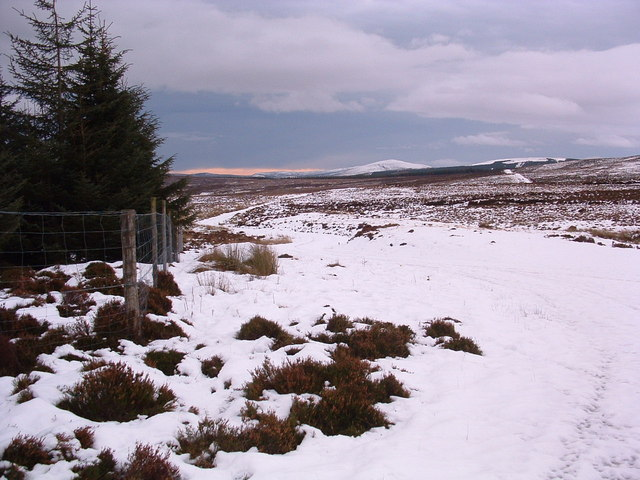 Looking towards the Buck of Cabrach