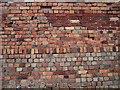SH4094 : Brickwork Variety at Porth Wen Brickworks by Richard Mawdsley