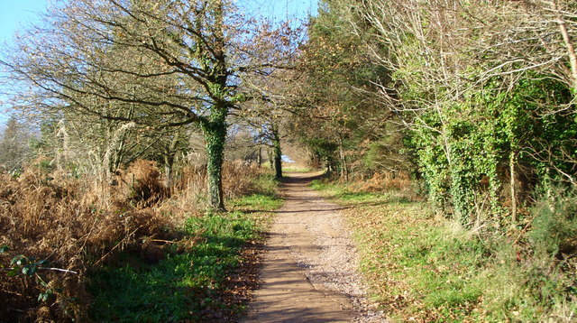 The footpath to May Hill
