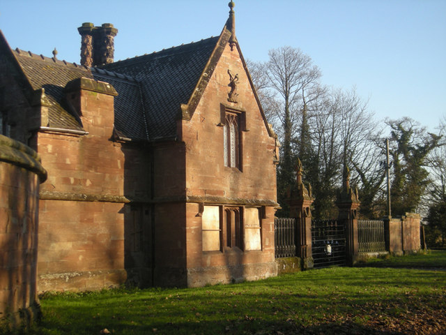 The Lodge - all boarded up