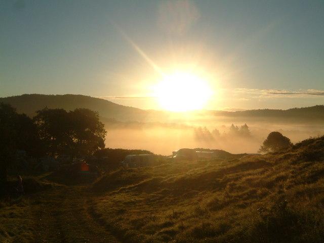 Sun Rise over Black Beck Farm
