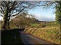 SX7765 : Lane near Barkingdon Manor (2) by Derek Harper