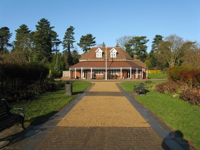 Pavilion in Bedford Park