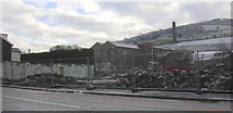 SD8122 : Albion Mill, Bacup Road, Demolition by Robert Wade