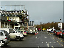 ST0207 : Fast food restaurant at Cullompton Services by Jonathan Billinger