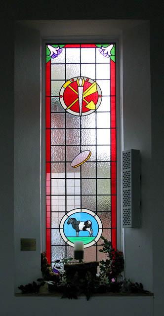Trunch Methodist Church - memorial window