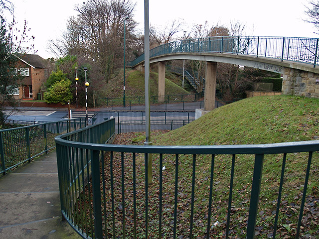 Footbridge over Ormesby Road, Normanby