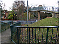 NZ5418 : Footbridge over Ormesby Road, Normanby by Stephen McCulloch