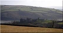 SN3510 : Llansteffan Castle by Peter Shaw