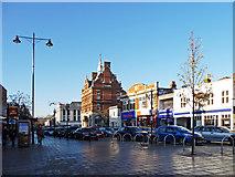 TQ3296 : Enfield Town centre, Enfield by Christine Matthews