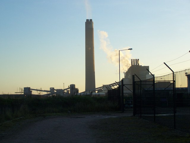Chimney of Kingsnorth Power Station