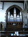 SD9126 : St Michael and All Angels, The Parish Church of Cornholme, Organ by Alexander P Kapp