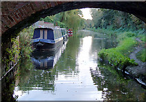 SO8999 : Staffordshire and Worcestershire Canal at Newbridge, Wolverhampton by Roger  Kidd