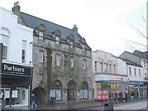 NS3975 : Glencairn's Greit House in the High Street by Lairich Rig