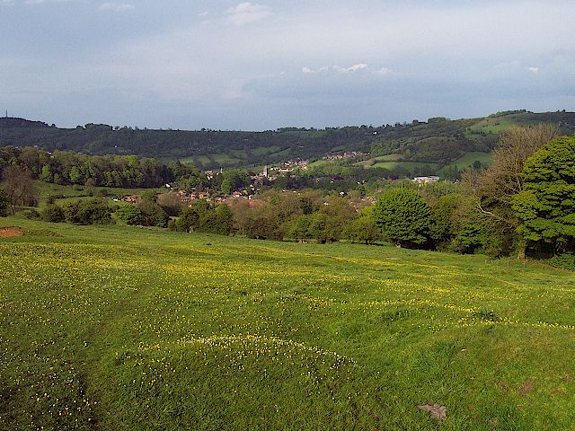 Footpath from Wirksworth to Hopton