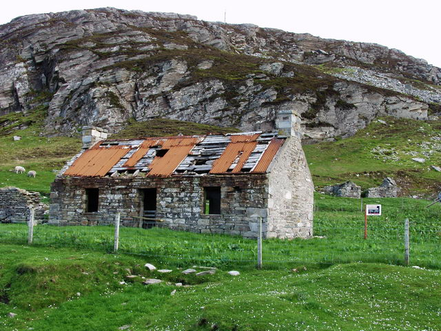 Derelict house for sale!