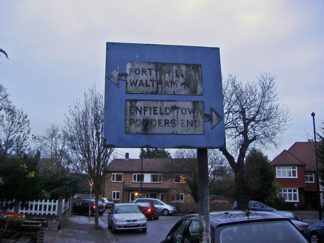 Drapers Road pre-Worboys sign