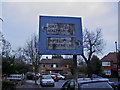 TQ3197 : Drapers Road pre-Worboys sign by David Howard