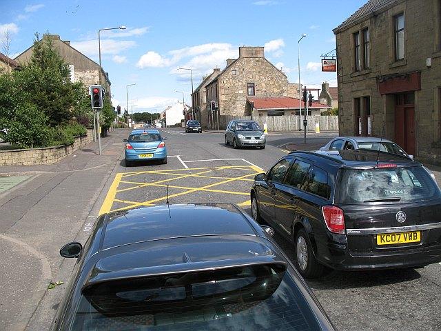 The centre of Blackburn