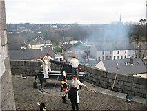 O0974 : Royal Artillery at Millmount, Drogheda by Kieran Campbell