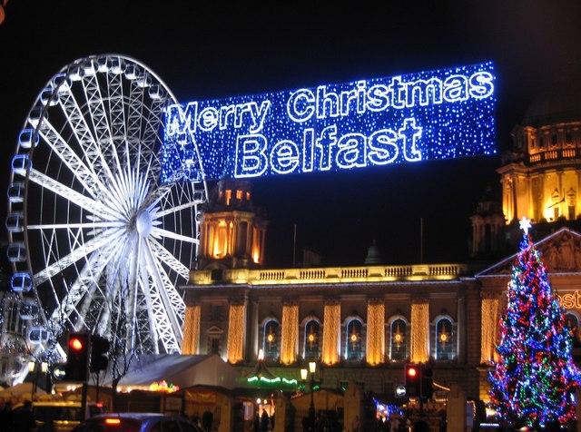 Merry Christmas Belfast!