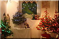 SW3525 : St Sennen Church Festival of Christmas Trees by Rod Allday