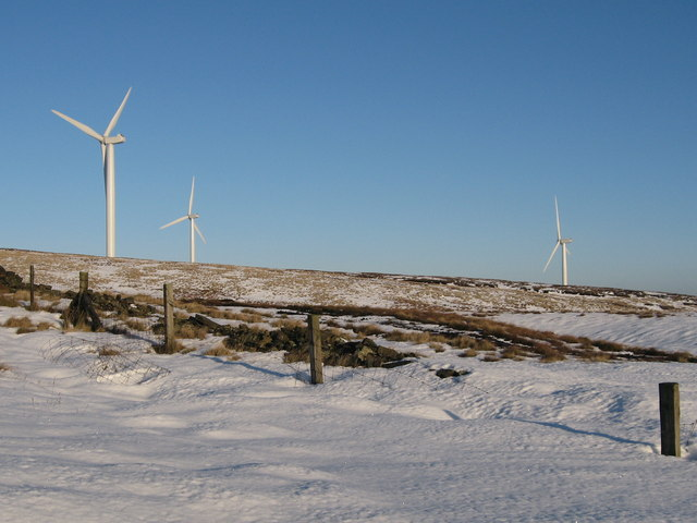 Scout Moor in Winter