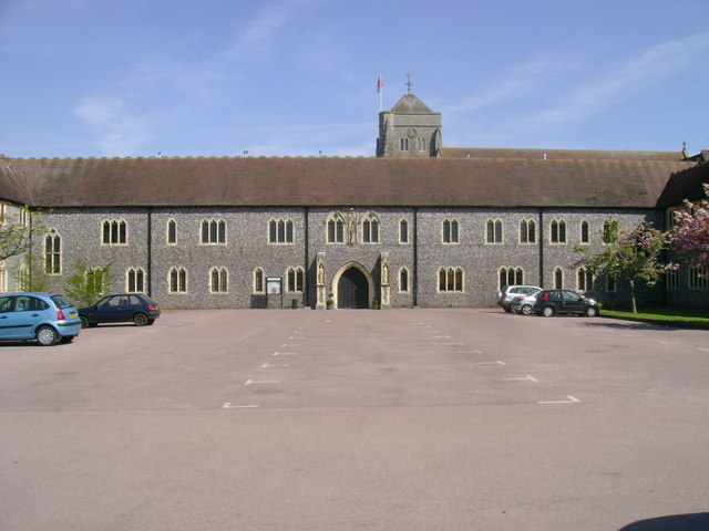 Hurstpierpoint College, front entrance