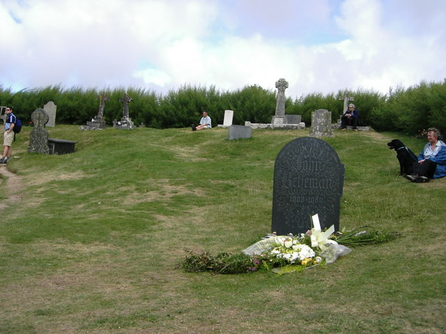 The grave of John Betjeman