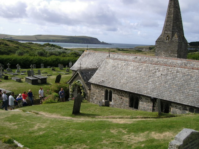 St Enodoc's church