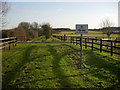 TL6757 : Stud farm by Hugh Venables