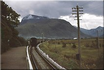 NN1176 : Train leaving Banavie for Fort William by Peter Whatley