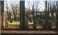 TM1072 : In St Mary's churchyard, Thornham Parva by Andrew Hill