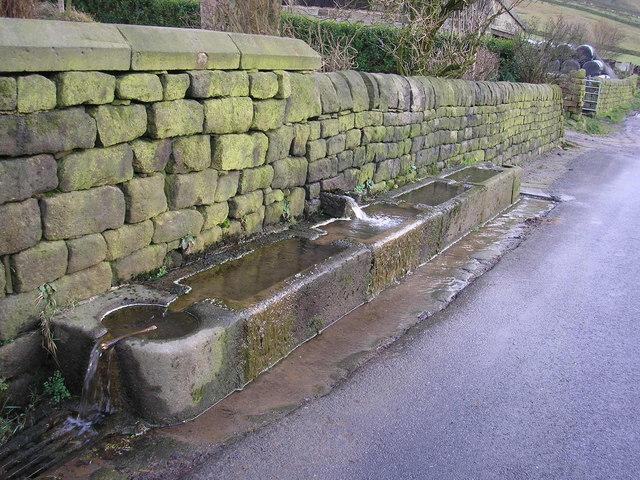 Water troughs at Mankinholes