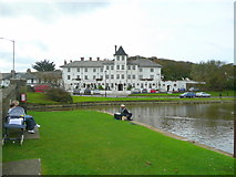 SS2006 : The Falcon Hotel and the Bude canal basin by Jonathan Billinger