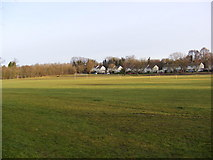TL2863 : Papworth Everard Sports Ground by Geographer