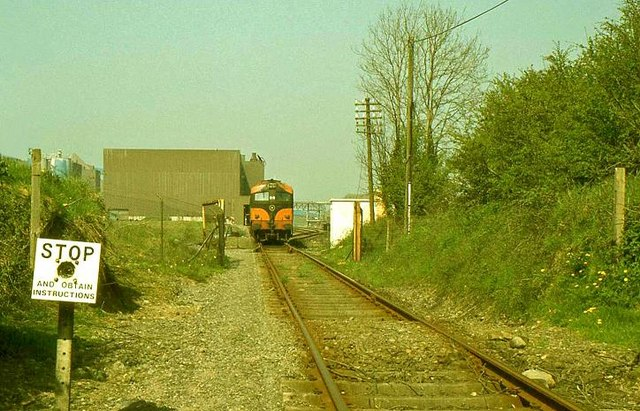 Railway, Tara Mines near Navan