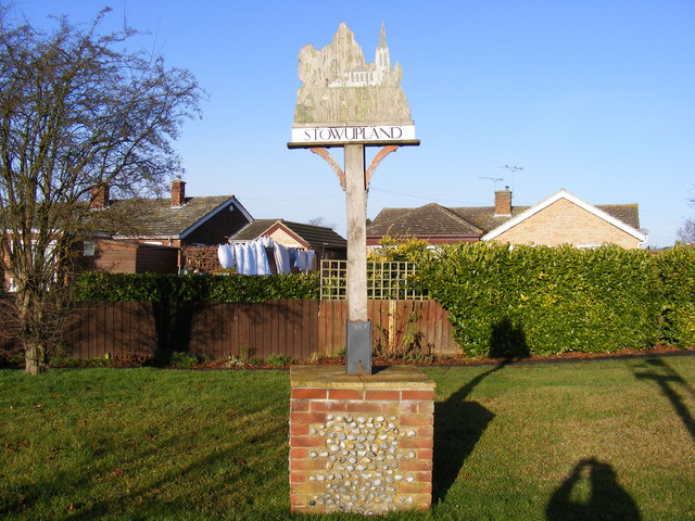 Stowupland Village Sign