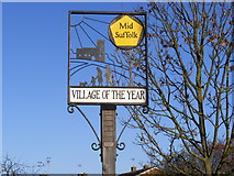 TM0659 : Village of the year award by Adrian Cable