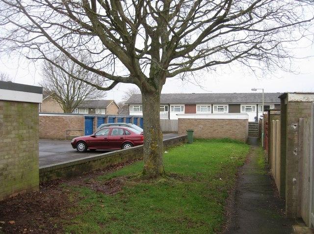 Osborne Close - residents parking by Sandy B