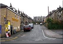 SE1437 : Melbourne Street - Saltaire Road by Betty Longbottom
