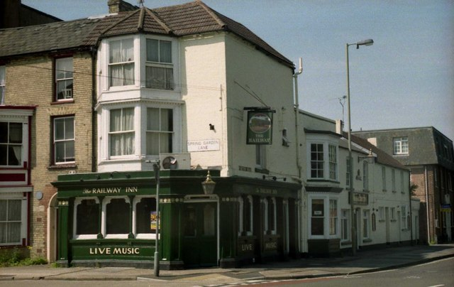 Pubs of Gosport - The Railway Inn (2007)