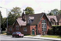 SO9975 : The Old School House - 1st Lickey Scout Hut by peter Dodman