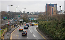 TQ2387 : Queueing For Brent Cross by Martin Addison
