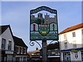 TM2863 : Framlingham Town Sign by Adrian Cable